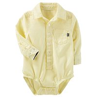 Baby Boy OshKosh B'gosh® Button Down Bodysuit