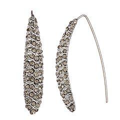 Simply Vera Vera Wang Simulated Crystal Threader Earrings
