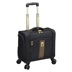 London Fog Langley 15 in Wheeled Underseater Carry-on Luggage