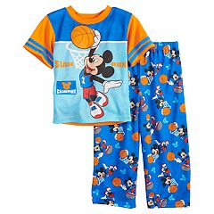 Disney's Mickey Mouse Toddler Boy 'Slam Dunk' Basketball Top & Bottoms Pajama Set