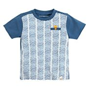 Toddler Boy Burt's Bees Baby Chevron Organic Graphic Tee