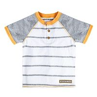 Toddler Boy Burt's Bees Baby Striped Organic Henley