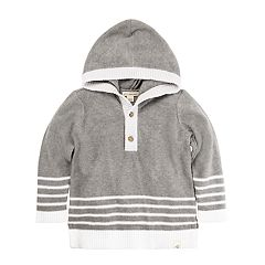 Toddler Boy Burt's Bees Baby Organic Hooded Sweater
