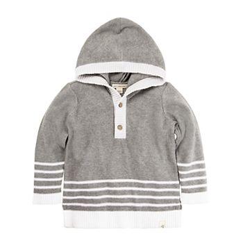 6998e58ca Toddler Boy Burt s Bees Baby Organic Hooded Sweater