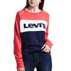 Women's Levi's Colorblock Crewneck Sweatshirt