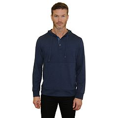 Men's Mountain and Isles Stretch Melange Henley Hoodie