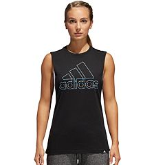 Women's adidas Logo Graphic Muscle Tank