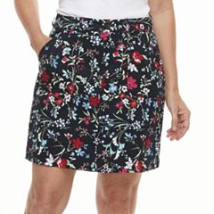 Women's Croft & Barrow® Twill Skort