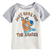 Toddler Boy Jumping Beans® Scooby-Doo 'Just Here For The Snacks' Raglan Graphic Tee