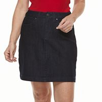 Women's Croft & Barrow® Jean Skort