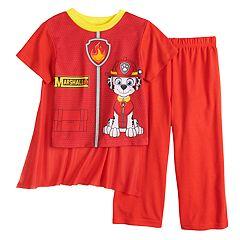 Toddler Boy Paw Patrol Marshall Caped Top & Bottoms Pajama Set