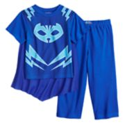 Toddler Boy PJ Masks Catboy Top with Cape & Pants Pajama Set