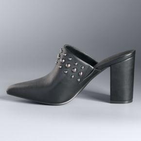 Simply Vera Vera Wang ... Gothenburg Women's Chunky High Heel Pumps