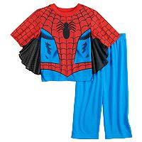 Toddler Boy Marvel Spider-Man Uniform Top & Bottoms Pajama Set