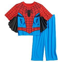 Toddler Boy Marvel Spider-Man Uniform Top & Bottoms Pajama Set