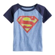 Toddler Boy Jumping Beans® Marvel Super-Man Logo Graphic Tee