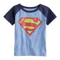Toddler Boy Jumping Beans® Marvel Super-Man Logo Graphic Tee