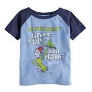 Toddler Boy Jumping Beans® Dr. Seuss 'Green Eggs & Ham' Raglan Graphic Tee