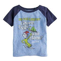 Toddler Boy Jumping Beans® Dr. Seuss 'Green Eggs & Ham' Raglan Graphic Tee