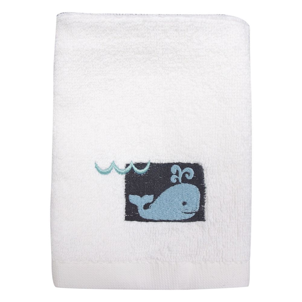 Allure Home Creations Whale Watch Washcloth