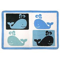 Allure Home Creations Whale Watch Bath Rug