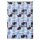 Allure Home Creations Whale Watch Shower Curtain