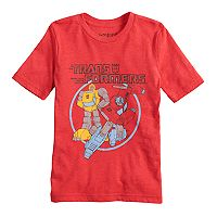 Boys 4-10 Jumping Beans® Transformers Optimus Prime & Bumblebee Graphic Tee