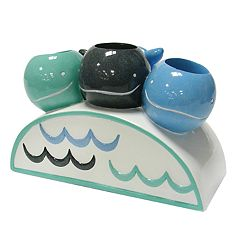Allure Home Creations Whale Watch Toothbrush Holder