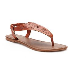 Women's SONOMA Goods for Life™ Cut-Out Filigree Shield Sandals