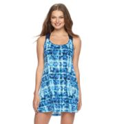 Women's Apt. 9® Tie-Dye Macrame Back Cover-Up