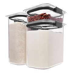 Rubbermaid Brilliance Pantry 6-piece Food Storage Set
