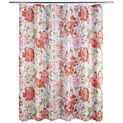 Allure Home Creations Paint Pallet Shower Curtain