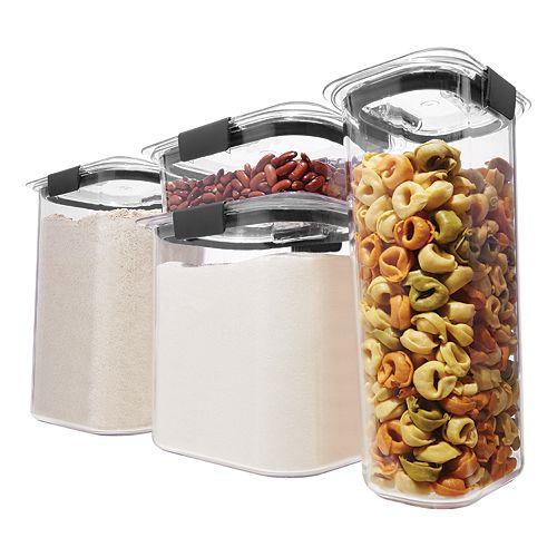 Rubbermaid Brilliance Pantry 8-piece Food Storage Set