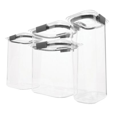 Rubbermaid Brilliance Pantry 8-piece Food Storage Set