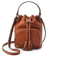 LC Lauren Conrad Farne Drawstring Convertible Crossbody Bag