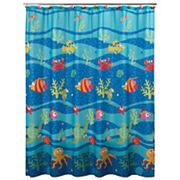 Allure Home Creations Fish Tails Shower Curtain