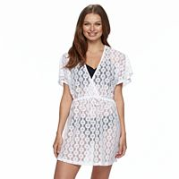 Women's Apt. 9® Crochet Surplice Cover-Up