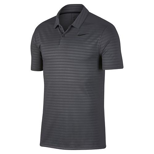 f872cf1b25 Men's Nike Dry Embossed Essential Regular-Fit Golf Polo