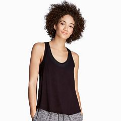 Women's Danskin Crossover Open Back Tank