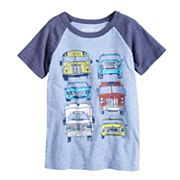 Boys 4-10 Jumping Beans® Vehicle Grid Graphic Tee