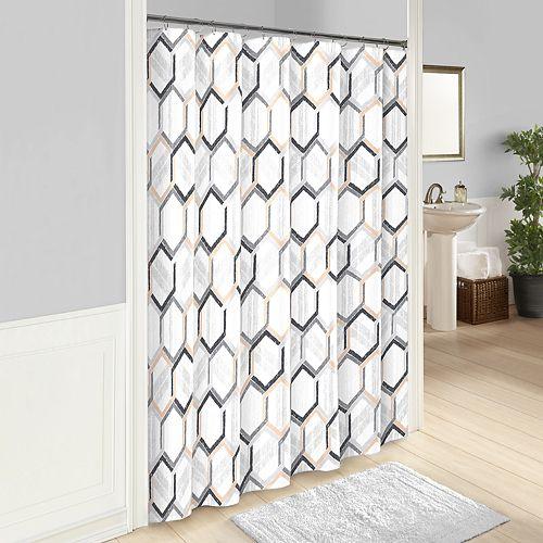 Vue Hexagonal Shower Curtain