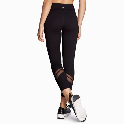 Women's Danskin Chevron Mesh Ankle Leggings