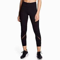 Women's Danskin Chevron Mesh Ankle Leggings