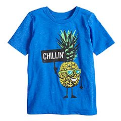Boys 4-10 Jumping Beans® 'Chillin'' Pineapple Graphic Tee
