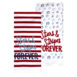 Celebrate Americana Together Stars & Stripes Kitchen Towel 2-pack