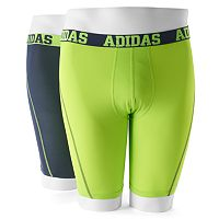Men's adidas 2-pack ClimaCool Athletic-Fit Micro Mesh Performance Solid Midway Briefs