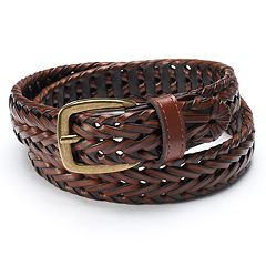 Boys 4-20 Chaps Braided Belt