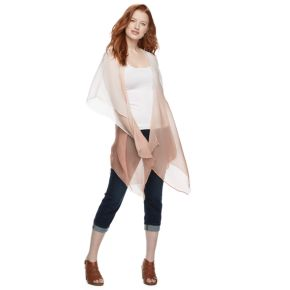 Women's SONOMA Goods for Life™ Ombre Bell Sleeve Kimono