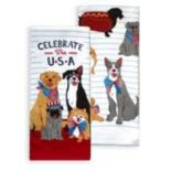 Celebrate Americana Together Celebrate the USA Kitchen Towel 2-pack