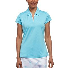 Women's Pebble Beach Embossed Golf Polo
